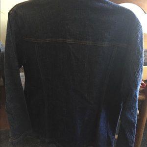 Chico's Jean Jacket Dark Blue Brand New